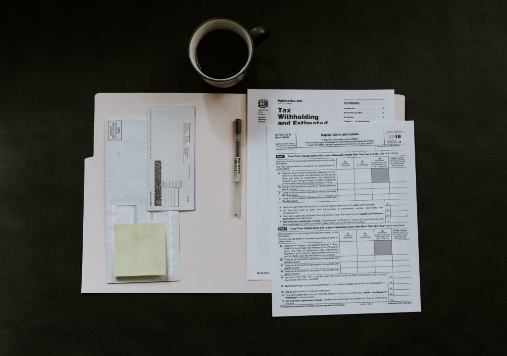 rozliczenie podatku - dokumenty